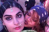 Rihanna and Sanam Sindhi