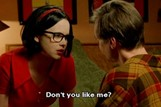 Thora Birch and Steve Buscemi in Ghost World