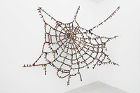 Reena Saini Kallat Untitled Cobweb (knots and crossings)