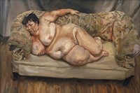 Benefits Supervisor Sleeping, Lucien Freud