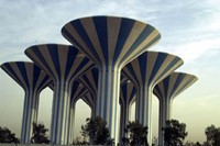 Kuwait water towers