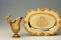 Ewer and Basin, Pierre Platel, 1701/02