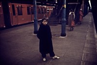 Tube little girl on platform new adjA-1