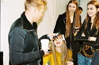 Make-up and hair before the show start at 1.30pm