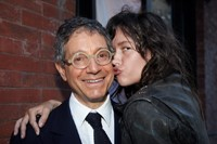 Jeffrey Deitch and Paz de la Huerta