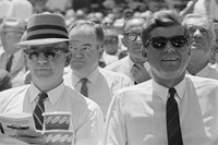 DC Stadium, 1962, John F Kennedy at the 32nd All S