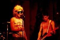 CBGB'S, New York, 1976, Debbie Harry and Chris Ste