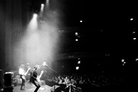 On stage at Usher Hall in Edinburgh taken by Romy
