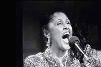 Darlene Love 1986 first festive Letterman performance