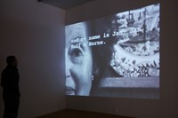 "Video installation of former Dutch ""comfort woman"" survivor"