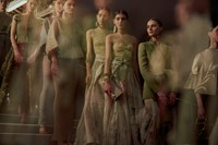 Armani Privé Haute Couture SS15 Line Up Flowing Skirts