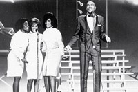 The Blossoms backing Marvin Gaye on The Tami Show, 1964