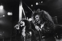 Darlene Love with Cher at Fox Theater, 1989