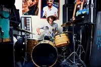 Zach Hill from Death Grips