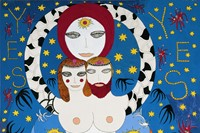 Dorothy IannoneYes1981Gouache on synthetic board14