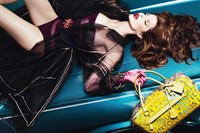 louis vuitton car richard prince campaign