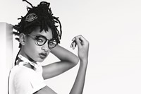 Willow Smith Chanel eyewear Karl Lagerfeld Dazed