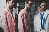 Lou Dalton SS15 Mens collections, Dazed backstage