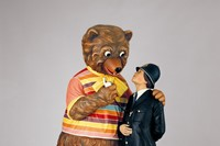 Koons_Bear and Policeman_from Koons Studio