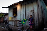 pedro bayeux - manaus - slum in front of stadium