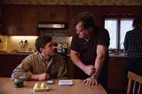 Casey Affleck and Kenneth Lonergan on the set of M