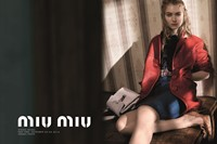 Imogen Poots for Miu Miu spring/summer 2015 campaign
