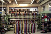 Loom in the Missoni Workshop in Sumirago, Italy, 2
