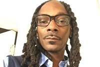 Snoop Dogg at TechCrunch Disrupt Conference