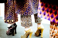 Prada Womenswear AW12. Photography Morgan O'Donova