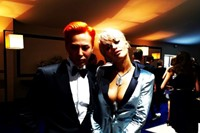 G-DRAGON AT PARIS FASHION WEEK