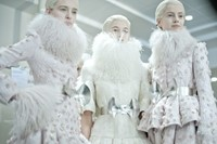 Alexander McQueen Womenswear AW12. Photography Mor