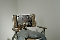Hawkins Bolden, Untitled (Scarecrow Chair), 1983-5