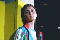 AMALIA wears Team Azerbaijan kit by ERMANNO SCERVI