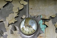 Melted clock, Cass Technical High School