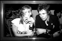 Caroline Coon and Paul Simonon 1976