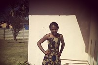 Michelle, Student in Canada from Harare wearing a