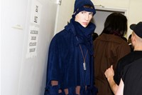 AW14 backstage, New Museum of Contemporary Art
