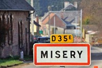 misery, town in France