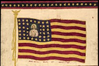 Henry Darger, Untitled (National Flag of Angelina)