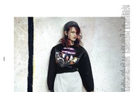 Dazed & Confused August 2012, 'She was a Skater Gi