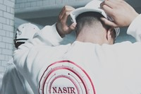 Nasir Mazhar SS15 Mens collections, Dazed backstage