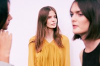 Chloé SS15, womenswear, Dazed backstage