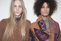 Backstage at Missoni AW14