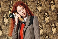 Natalie Westling wears Louis Vuitton AW14