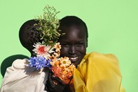 Grace Bol and Alek Wek - spring/summer 2017