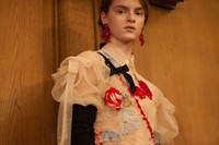 simone rocha aw18 lfw show fashion week