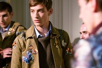 Valentino SS15 Mens collections, Dazed backstage