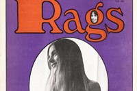 RAGS MAGAZINE / 1971 February / BOUTIQUES and HIP CAPITALISM / FREE SHIPPING