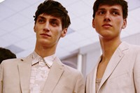 Hermès SS15 Mens collections, Dazed backstage