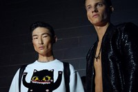 Dsquared2 SS15 Mens collections, Dazed backstage
